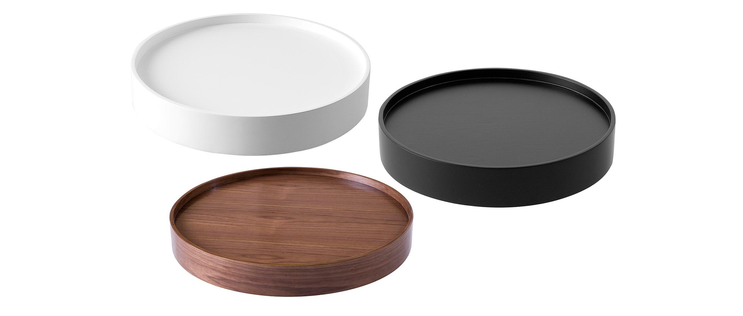 tablett f r drum hocker von softline. Black Bedroom Furniture Sets. Home Design Ideas