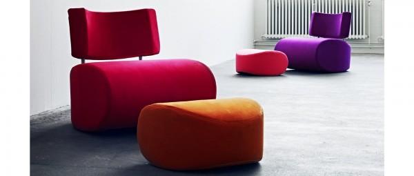 APOLLO Sessel von Softline - mit Stoffen von KVADRAT
