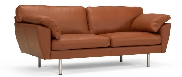 ARENDAL 2,5-Sitzer Designer Sofa mit breiten Polsterarmlehnen