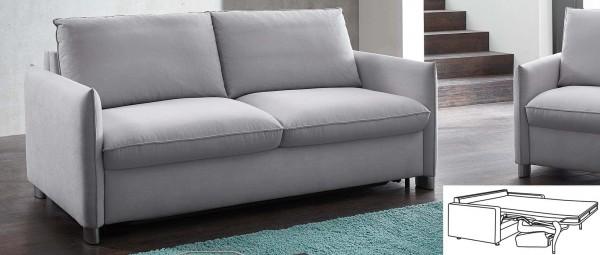 NÜRNBERG DELUXE Schlafsofa mit Lattenrost und Matratze von sofaplus