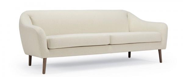 VAASA 2,5-Sitzer Designer Sofa mit Polsterarmlehnen