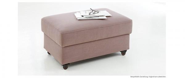 STRALSUND DELUXE Hocker mit Rollen und Stauraum von sofaplus