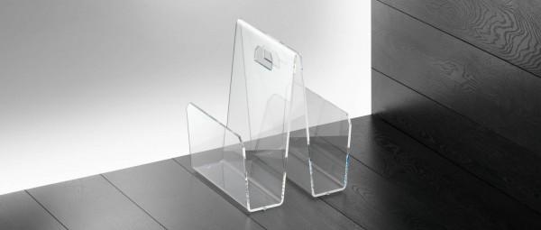 KÖLN Zeitschriftenständer aus Plexiglas von Edelber