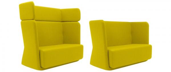 BASKET Sofa von Softline - mit Stoffen von KVADRAT