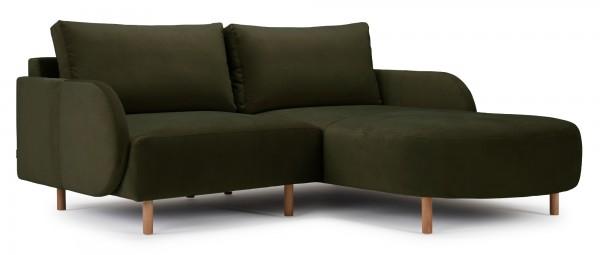 VARBERG 1-Sitzer Sofa mit Longchair als kleines Ecksofa