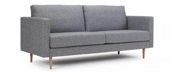 TRONDHEIM 2,5-Sitzer Designer Sofa mit Holz- oder Metallfüßen