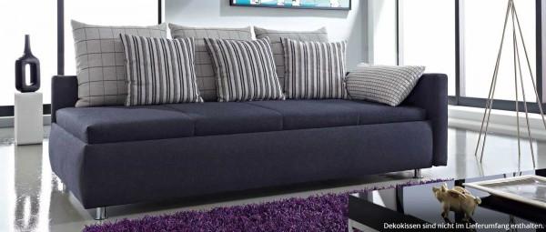 INNSBRUCK DELUXE Bettsofa mit verstellbarem Lattenrost von sofaplus
