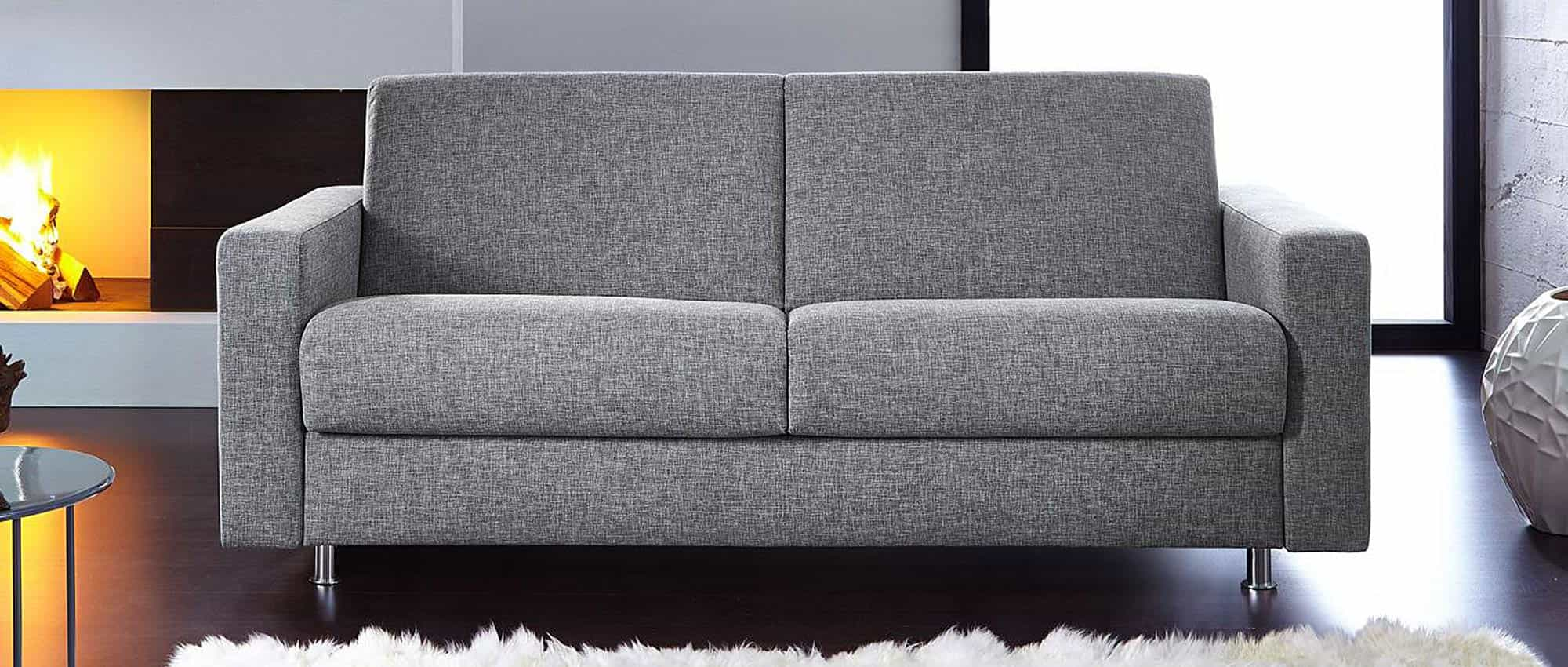 schlafsofa hamburg deluxe mit lattenrost und matratze von. Black Bedroom Furniture Sets. Home Design Ideas