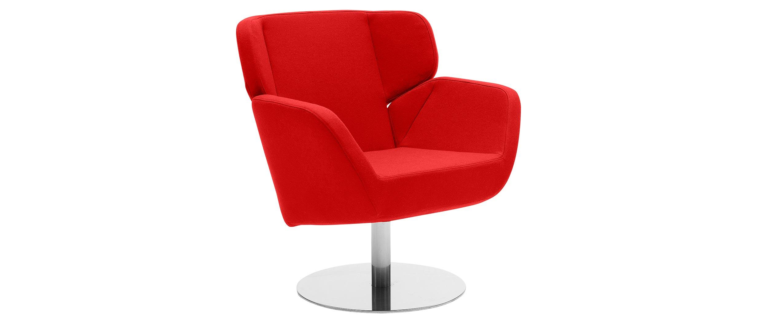 SOFTLINE Cosy Lounge-Sessel / Ohrensessel mit Drehfuß | mysofabed.de