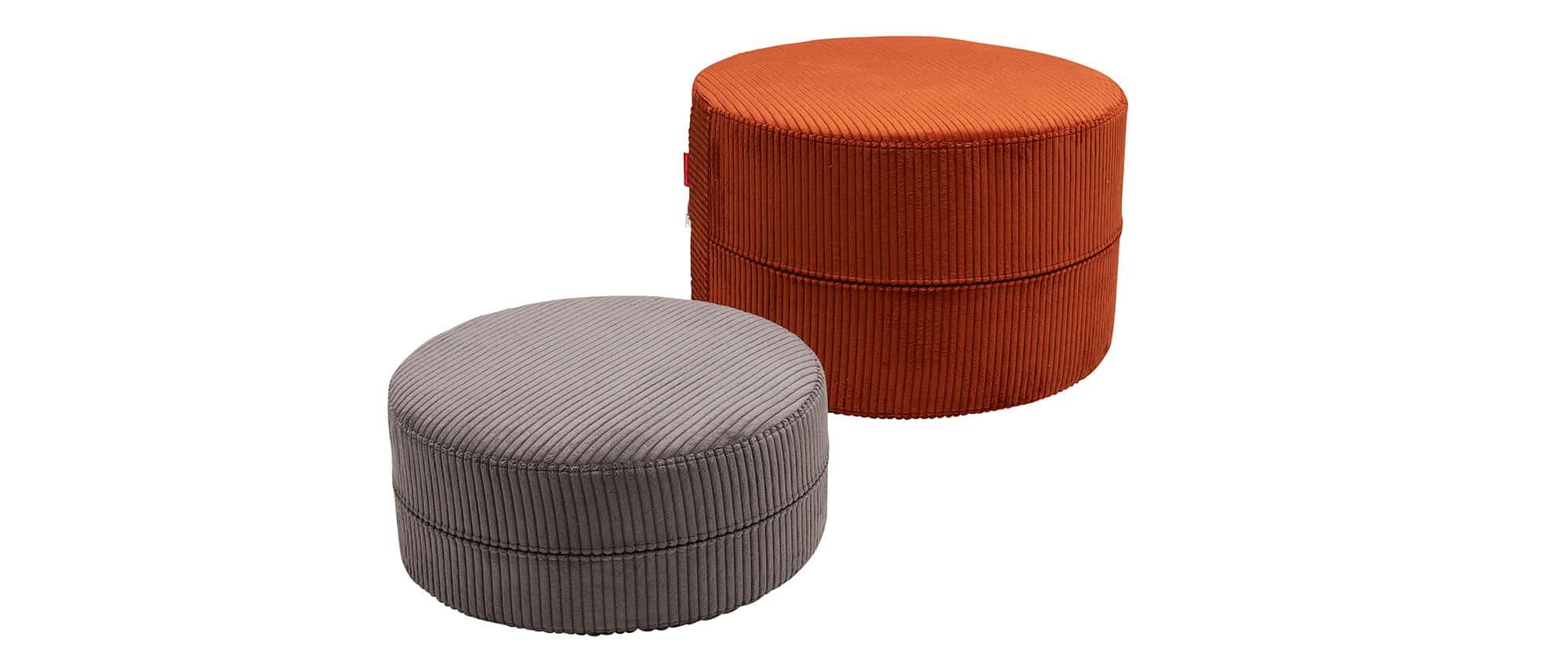 Sitzhocker DECONSTRUCTED von Innovation |