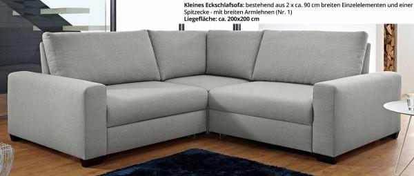 FRANKFURT DELUXE Eckschlafsofa von sofaplus