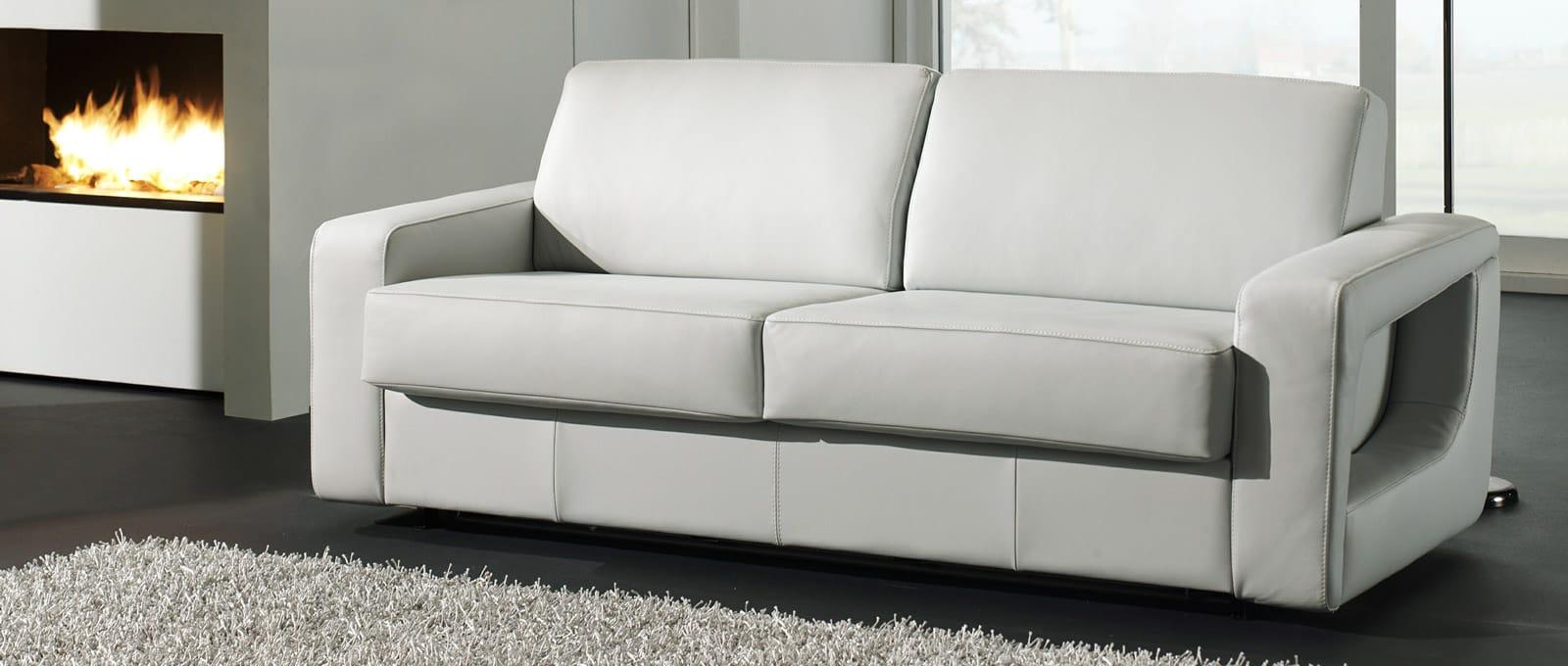 bettsofa mit lattenrost echtleder vicco schlafsofa sofa. Black Bedroom Furniture Sets. Home Design Ideas