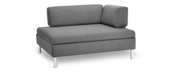 DUETTO Schlafsofa, Bettsofa mit Lattenrost von Swiss Plus