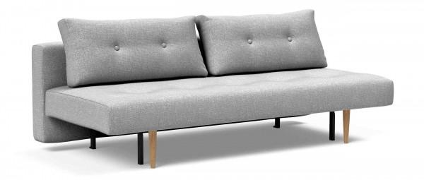 RECAST PLUS Schlafsofa von Innovation mit hellen Styletto Holzfüßen