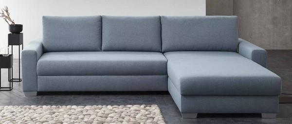 FRANKFURT DELUXE Schlafsofa mit Longchair von sofaplus
