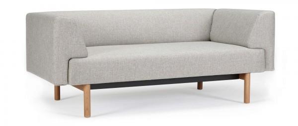 LUND 2-Sitzer Designer Sofa mit Polsterarmlehnen