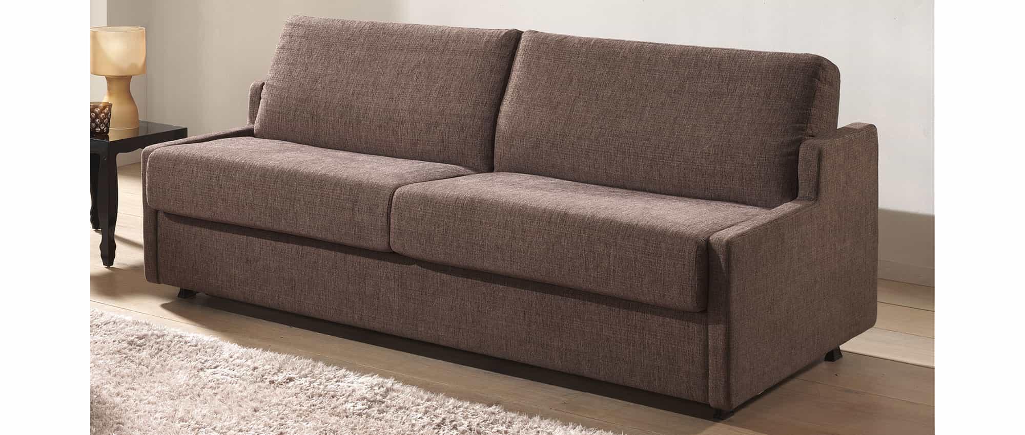 schlafsofa virginia mit lattenrost und matratze in 140x200 cm bett. Black Bedroom Furniture Sets. Home Design Ideas