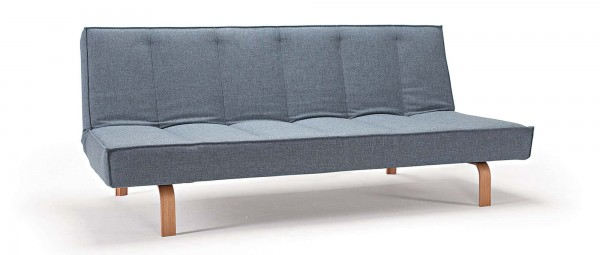 ODIN Schlafsofa Wood & Chrome von Innovation