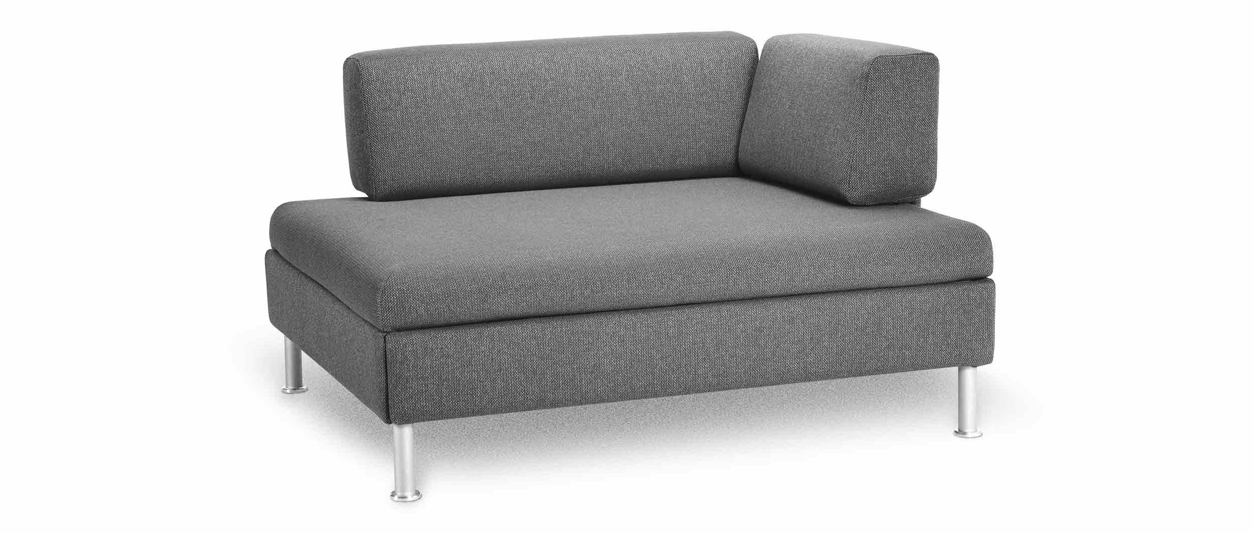 kleines schlafsofa duetto mit lattenrost von swiss plus. Black Bedroom Furniture Sets. Home Design Ideas