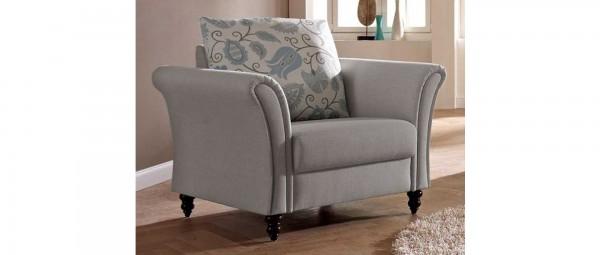 SYLT DELUXE Sessel mit Holzfüßen von sofaplus