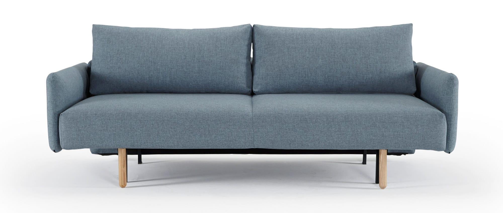 innovation schlafsofa frode mit hellen holzbeinen. Black Bedroom Furniture Sets. Home Design Ideas