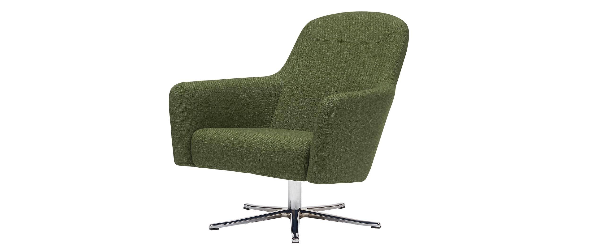 softline havana low loungesessel mit 4 f en oder drehgestell. Black Bedroom Furniture Sets. Home Design Ideas