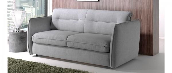 KANSAS Schlafsofa mit Lattenrost und Matratze von sofaplus