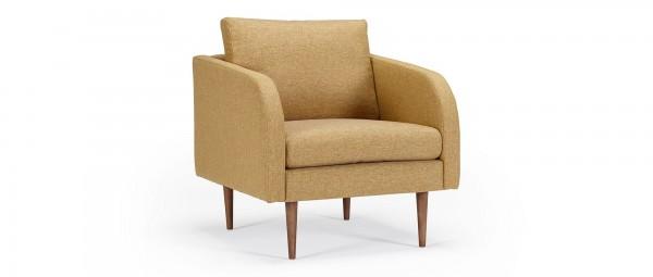 BERGEN Designer Sessel mit Polsterarmlehnen