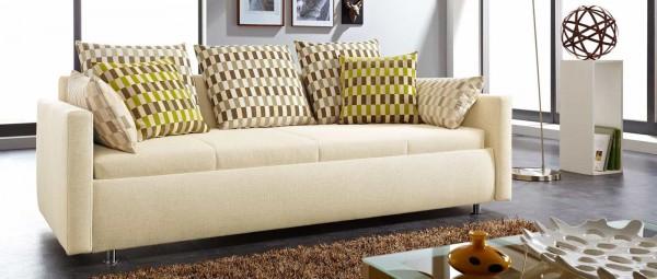 LINDAU DELUXE Schlafsofa mit elektrisch verstellbarem Lattenrost (optional) von sofaplus