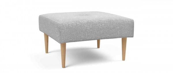 RECAST Hocker von Innovation mit hellen Styletto Holzfüßen