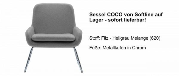 COCO Sessel von Softline - Einzelstück