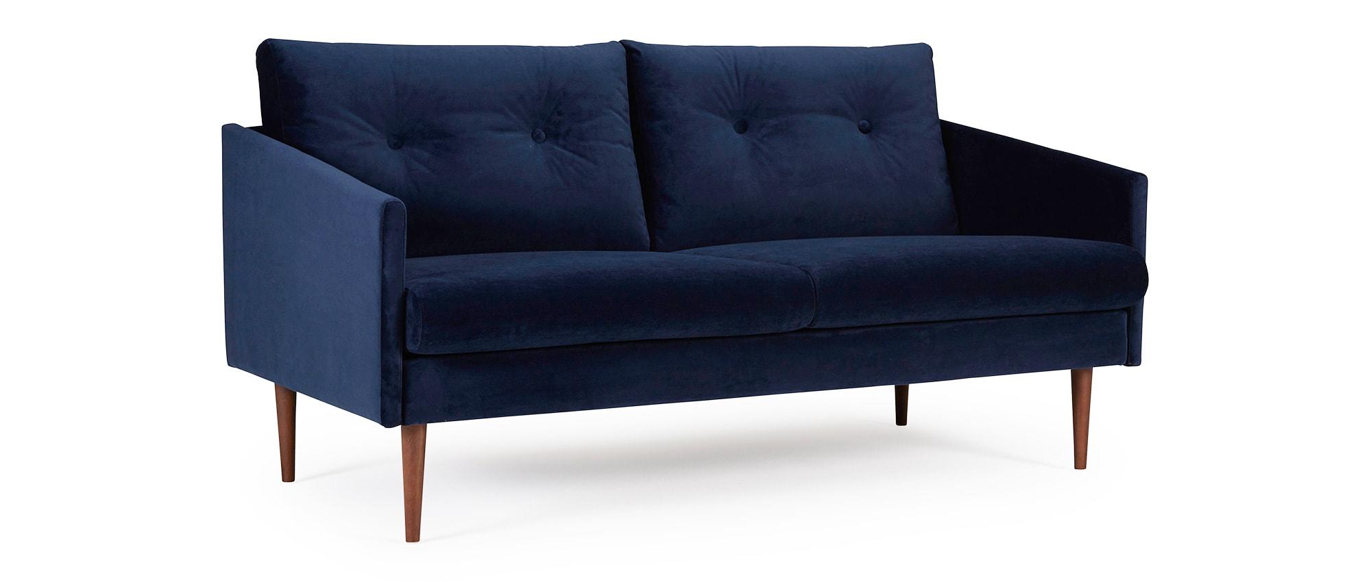 designer sofa karlstad als 2 5 sitzer mit polsterarmlehnen und runden seitenkissen. Black Bedroom Furniture Sets. Home Design Ideas