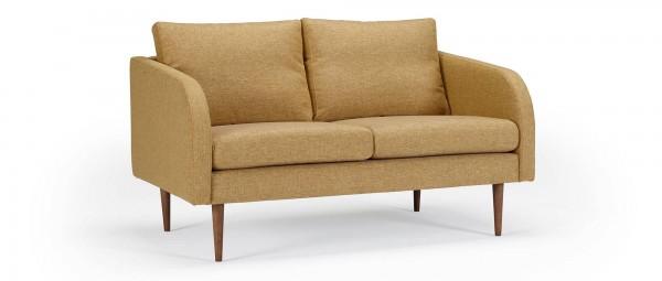 BERGEN 2-Sitzer Designer Sofa mit Polsterarmlehnen