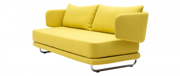 JASPER Sofa mit Schlaffunktion von Softline - in Stoffen von KVADRAT
