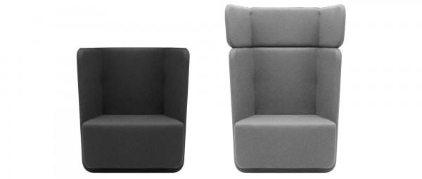 BASKET Sessel von Softline - mit Stoffen von KVADRAT