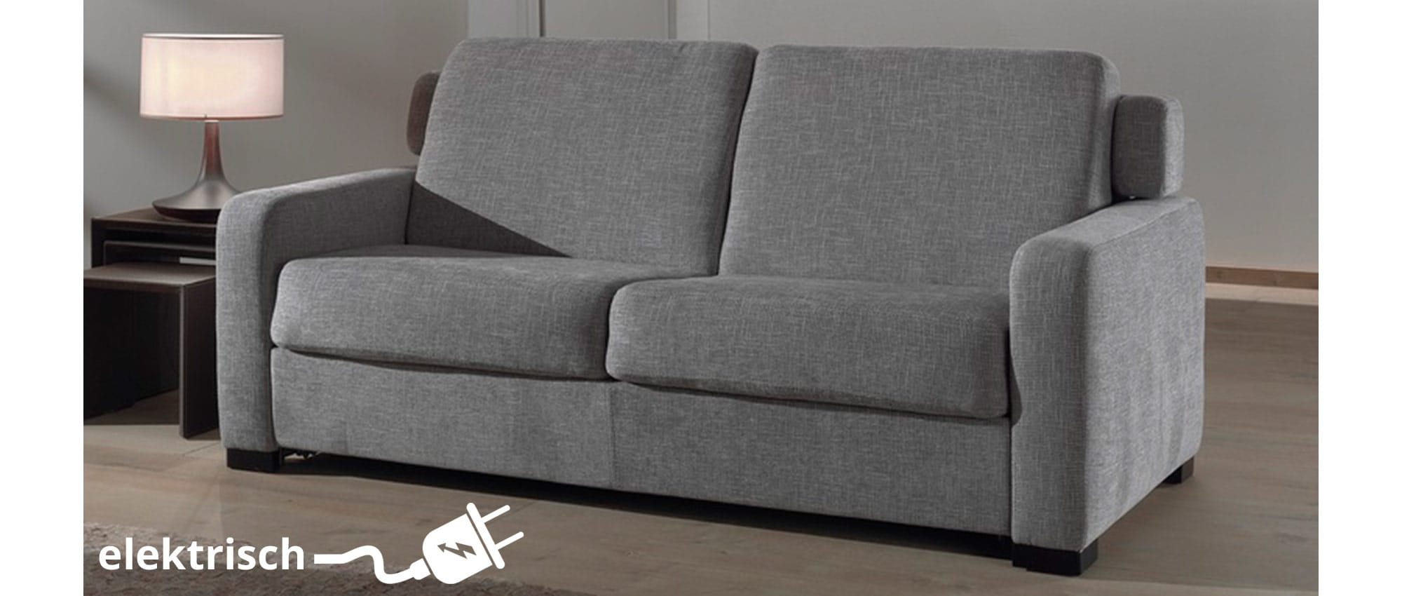 Elektrisches schlafsofa mit motor tesla von sofaplus for Schlafsofa elektrisch