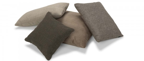 TURKU Kissen für Sofas - diverse Stoffe und Größen