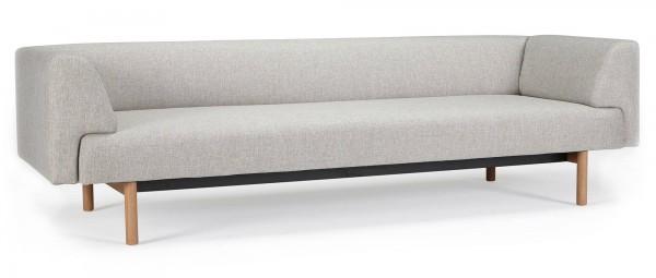 LUND 3-Sitzer Designer Sofa mit Polsterarmlehnen