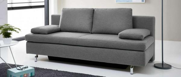 LEIPZIG DELUXE Schlafsofa mit Bettkasten und Lattenrost von sofaplus