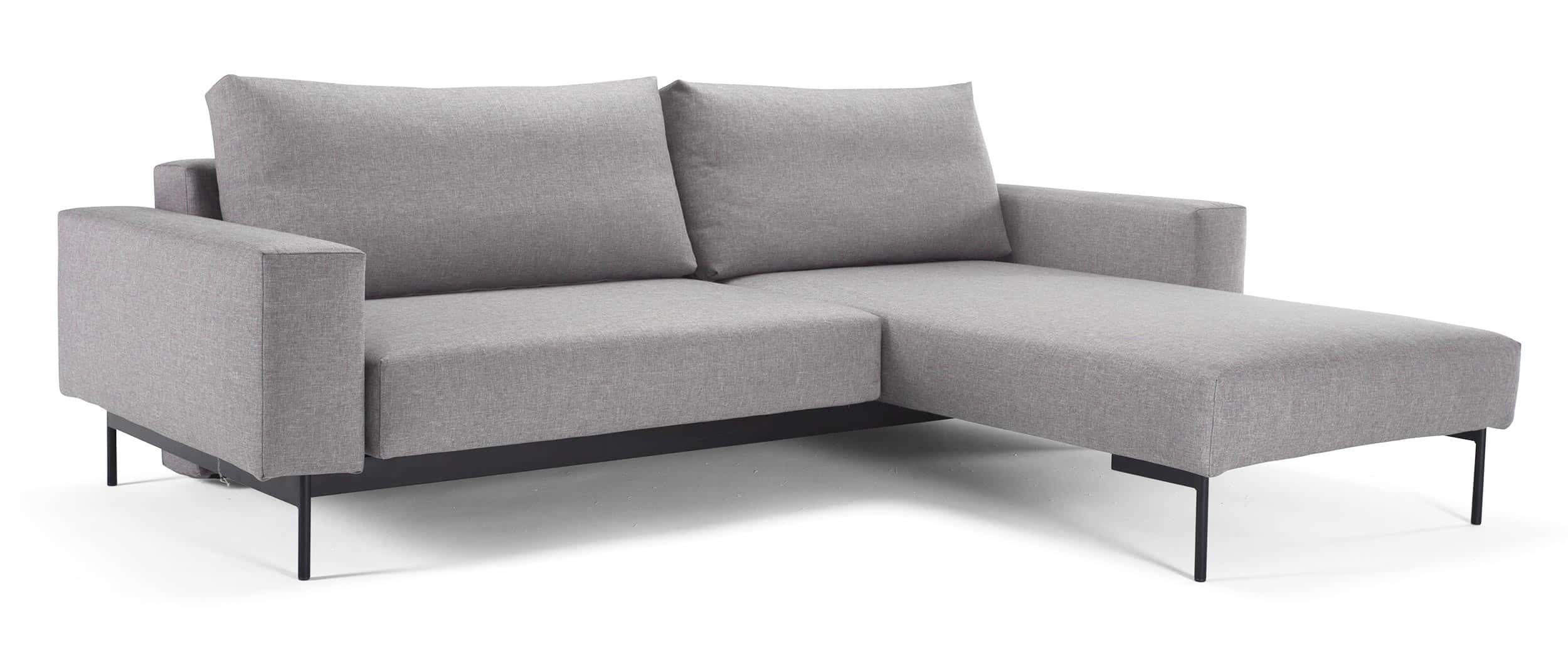 innovation bragi eckschlafsofa mit praktischem holztisch und g stebettfunktion. Black Bedroom Furniture Sets. Home Design Ideas