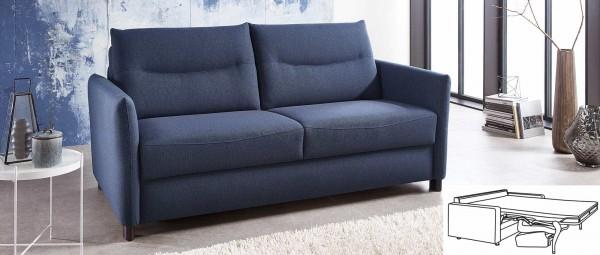 DORTMUND DELUXE Schlafsofa mit Lattenrost und Matratze von sofaplus