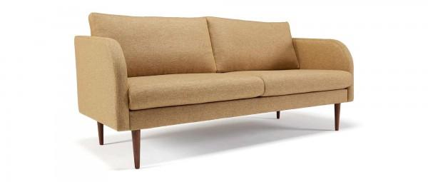 BERGEN 2,5 Sitzer Designer Sofa mit Polsterarmlehnen