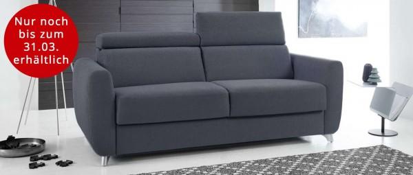 BREMEN DELUXE Schlafsofa mit Lattenrost und Matratze von sofaplus