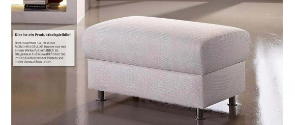 MÜNCHEN DELUXE Hocker mit Stauraum von sofaplus