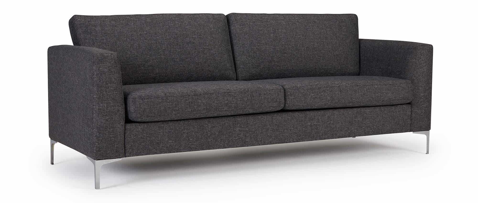 designer sofa trelleborg als 3 sitzer mit polsterarmlehnen. Black Bedroom Furniture Sets. Home Design Ideas