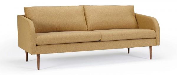 BERGEN 3-Sitzer Designer Sofa mit Polsterarmlehnen