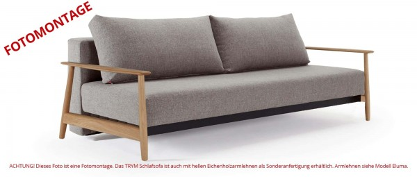TRYM Schlafsofa mit Rückenkissen von Innovation