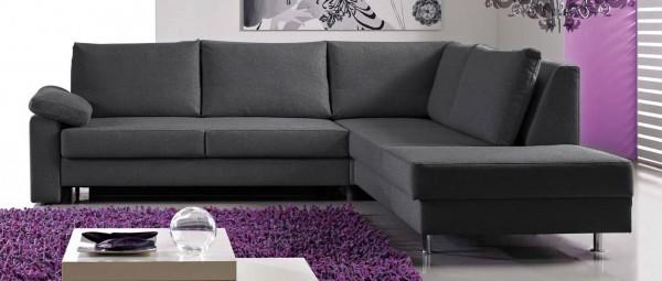 BERLIN DELUXE Ecksofa mit Schlaffunktion von sofaplus