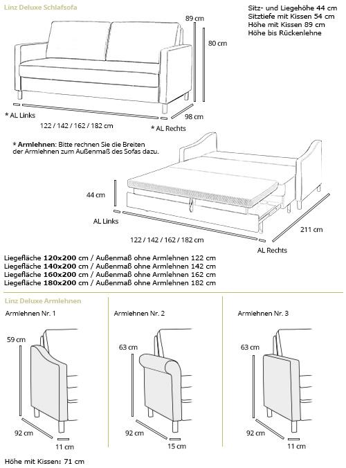 sofa linz deluxe von sofaplus. Black Bedroom Furniture Sets. Home Design Ideas