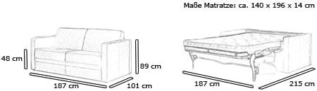 Elektro schlafsofa elektrisch ausfahrbar mit motor for Schlafsofa elektrisch